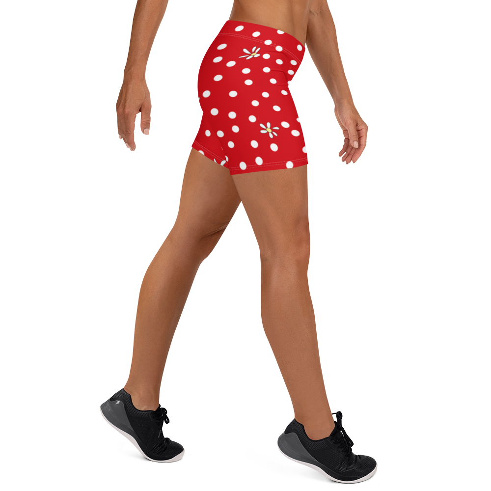 Red Polka Dot Shorts