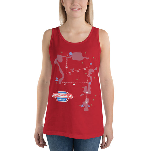 Gondola Map Tank Top