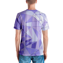Load image into Gallery viewer, Men's Purple Wall V-Neck Shirt