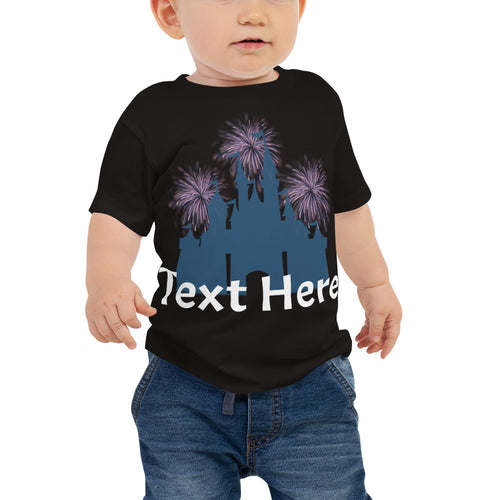 Personalized Castle Baby Tee