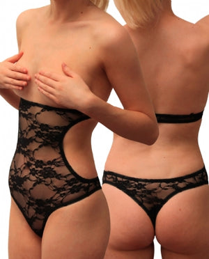 Cutaway Cover - Black Lace