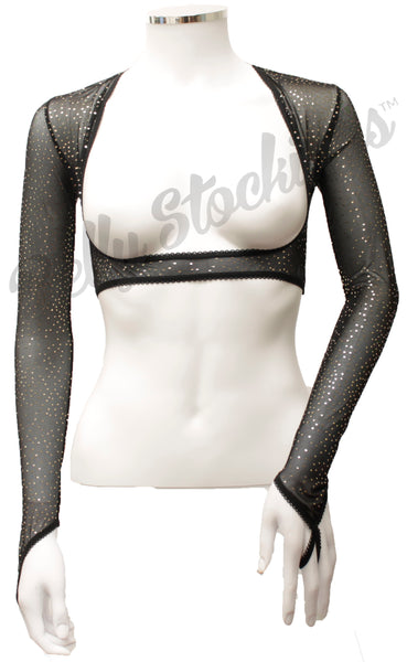 Bolero  - Black Gold Sparkle