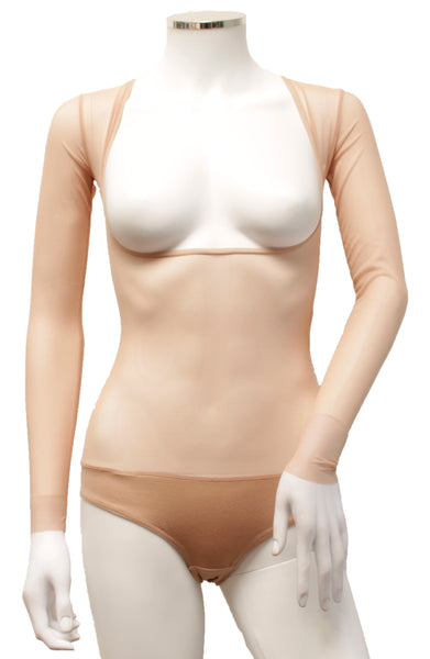Underbust with Sleeves - Blush