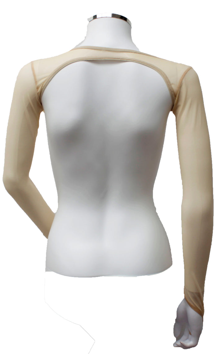 Backless Shrug - Butterscotch