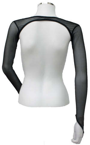 Backless Shrug - Black