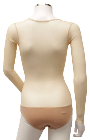 Underbust with Sleeves - Butterscotch