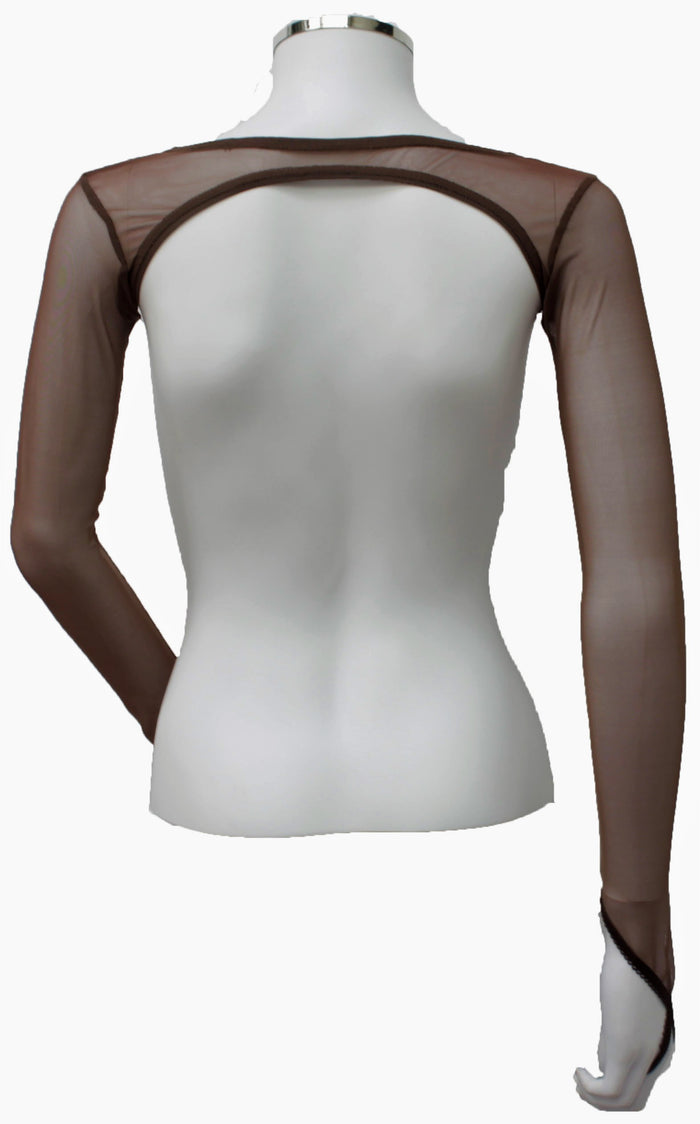 Backless Shrug - Milk Chocolate