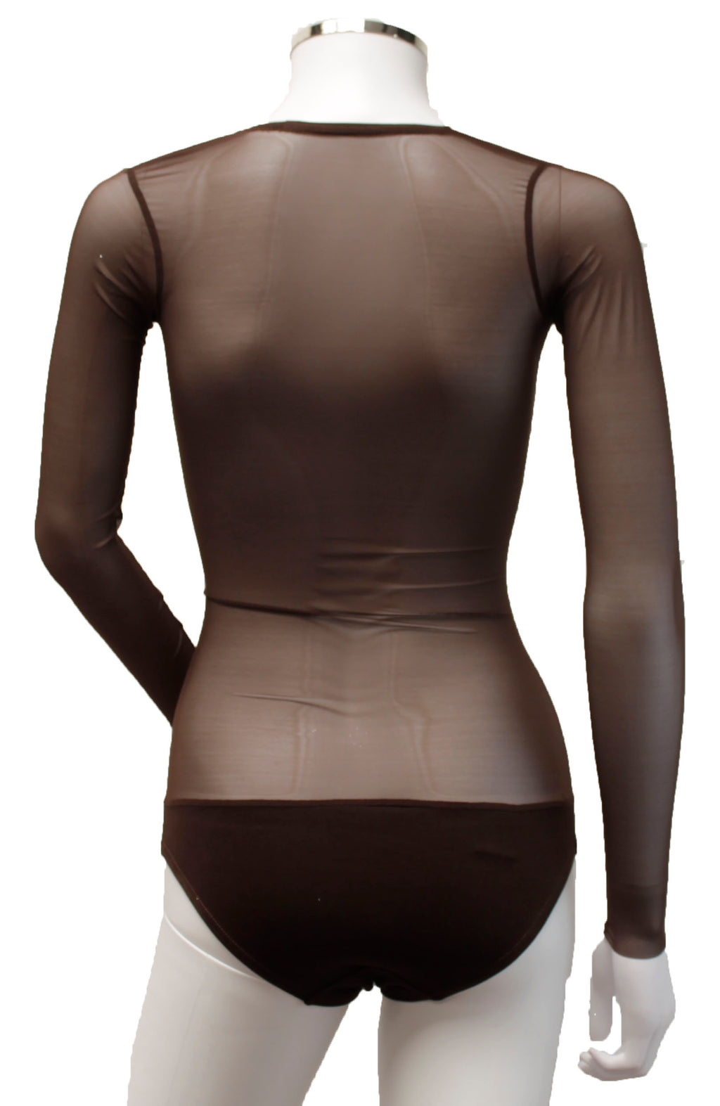Underbust with Sleeves - Dark Chocolate