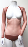 Underbust with Sleeves -  Deep Blush