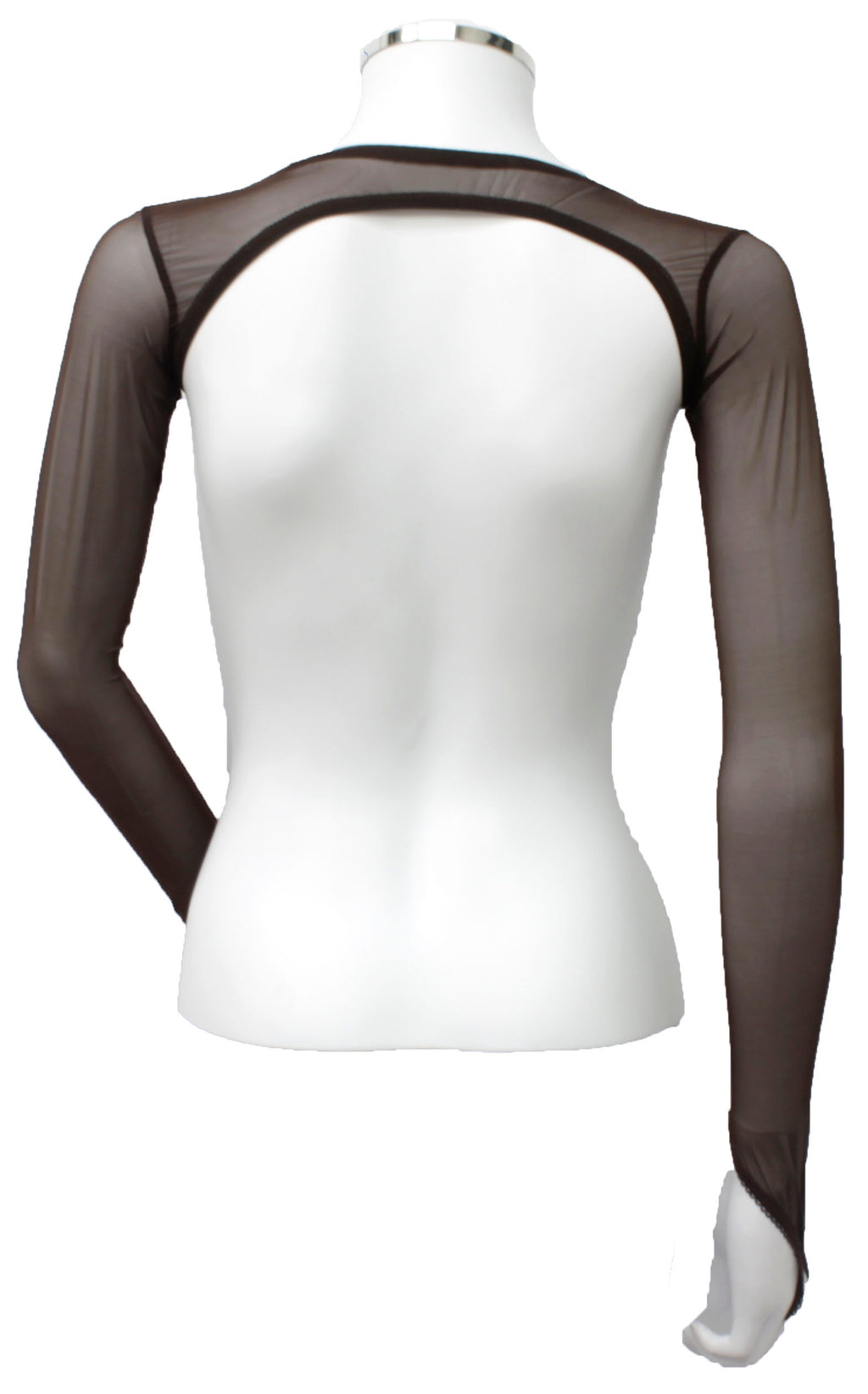 Backless Shrug - Dark Chocolate