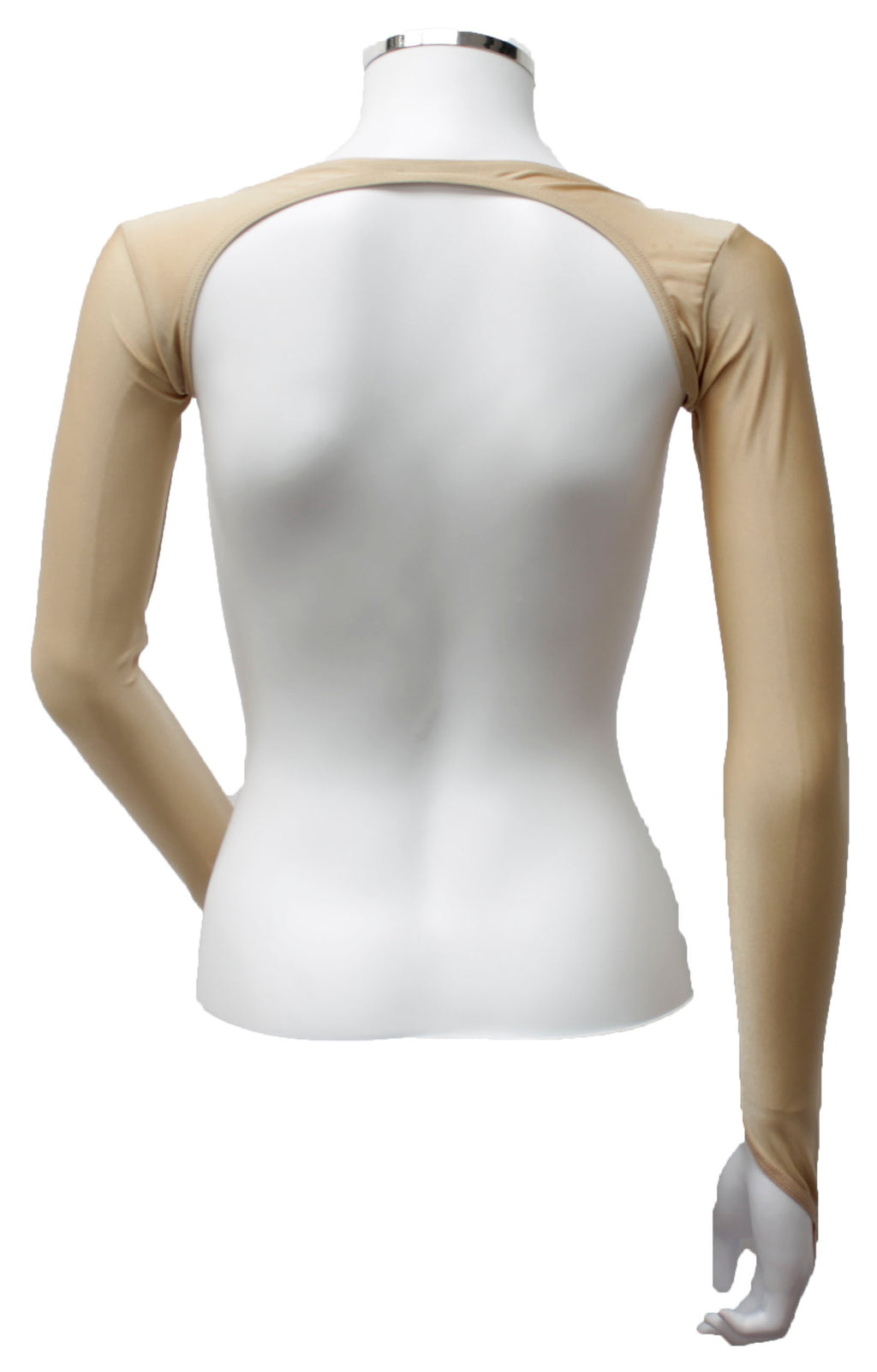 Backless Shrug - Flesh Opaque Lycra