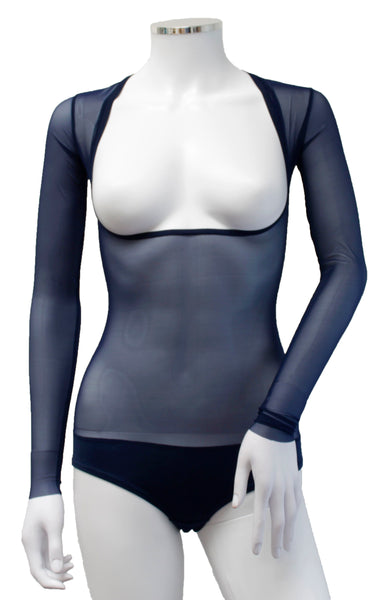 Underbust with Sleeves - Indigo