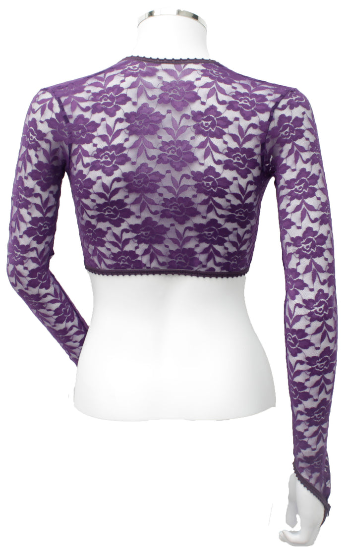 Bolero  - Purple Lace