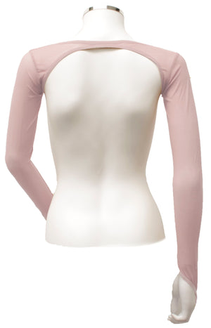 Backless Shrug - Pale Pink