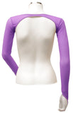 Backless Shrug - Purple