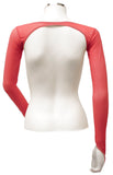 Backless Shrug - Red
