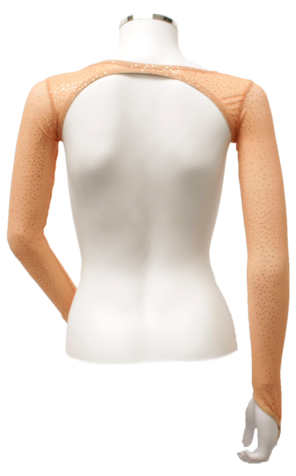 Backless Shrug - Toffee Gold Sparkle