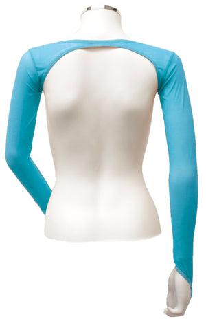 Backless Shrug - Turquoise