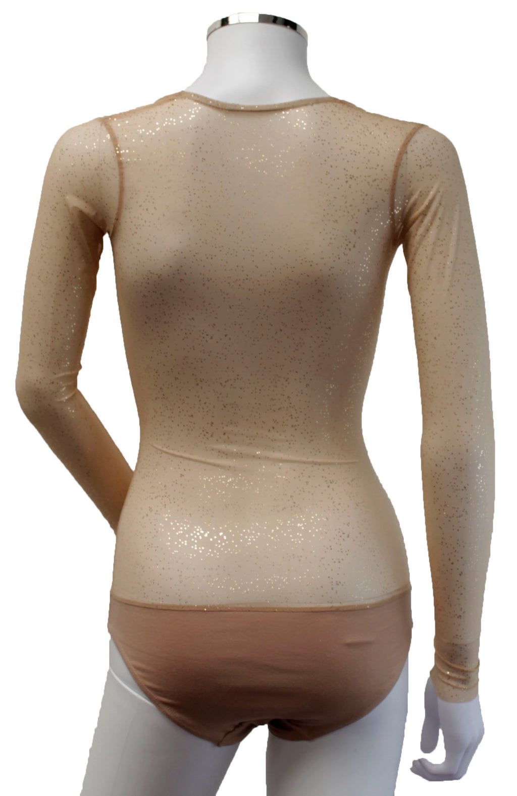 Underbust with Sleeves - Buttercream with Gold Sprinkles