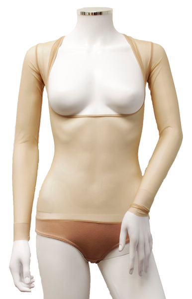 Underbust with Sleeves - Classic Nude
