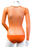 Underbust with Sleeves - Orange