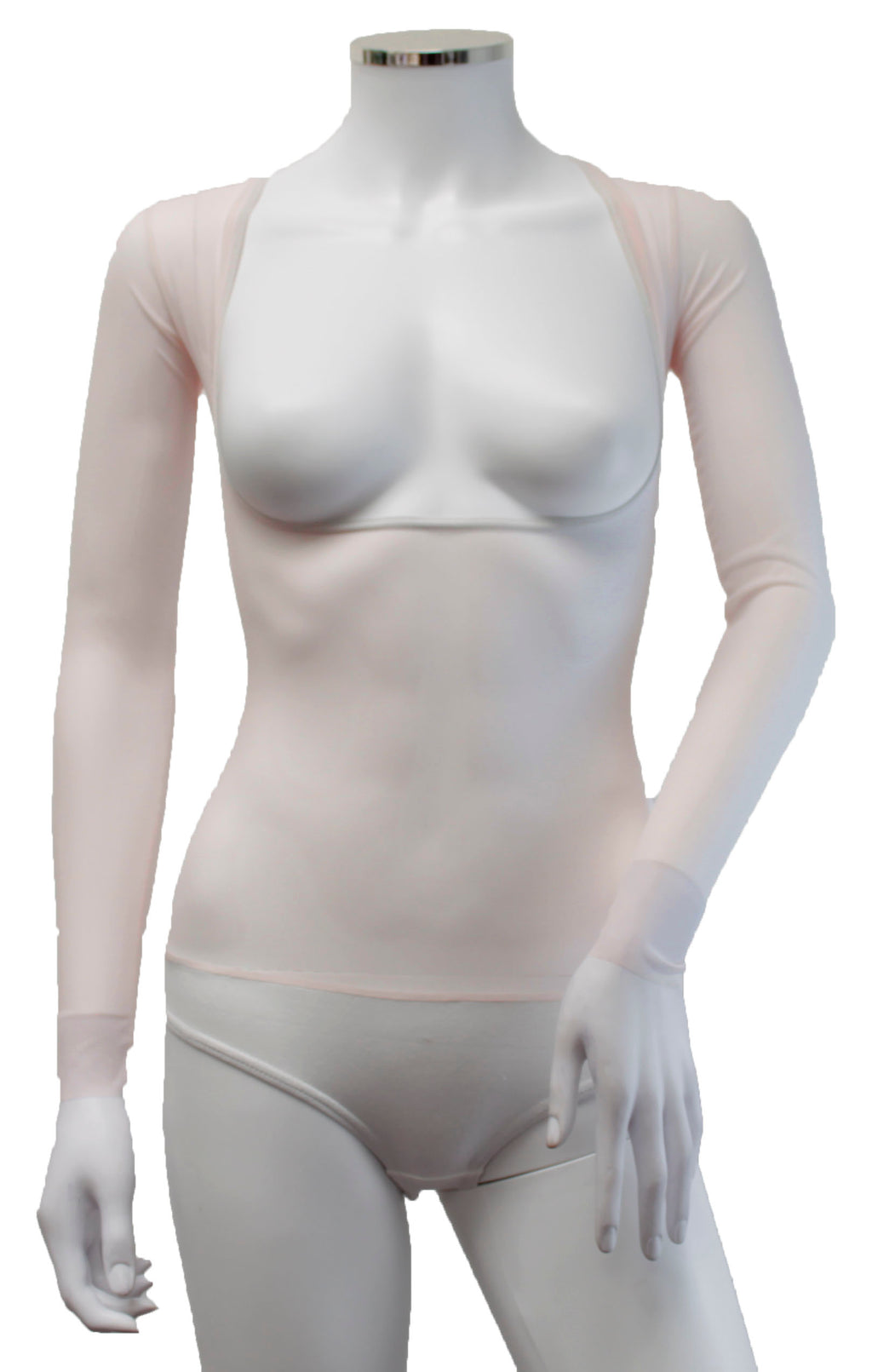 Underbust with Sleeves - Porcelain