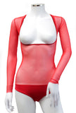 Underbust with Sleeves - Red
