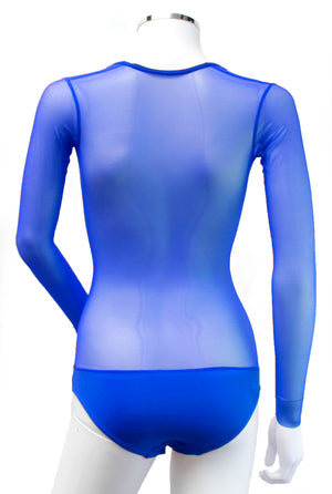 Underbust with Sleeves - Royal Blue