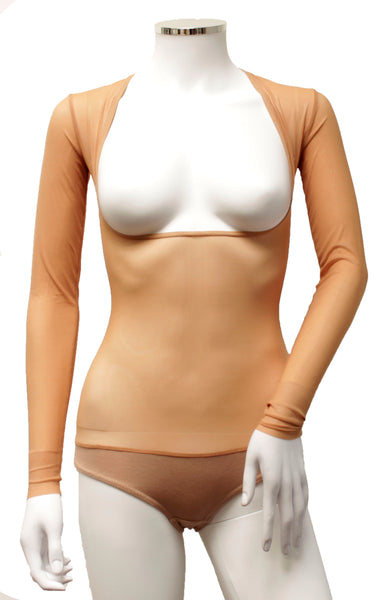 Underbust with Sleeves - Toffee