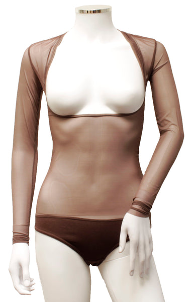 Underbust with Sleeves - Truffle