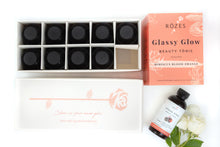 Load image into Gallery viewer, Rozes Beauty Glassy Glow Beauty Tonic Packaging 10 pack
