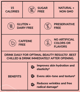 benefits and directions for Rozes Beauty Glassy Glow Tonics