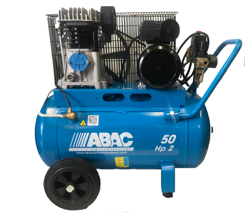 ABAC 2.0HP 50 Litre Belt Drive Air Compressor A29-50-2