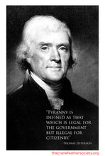 Load image into Gallery viewer, Thomas Jefferson - Least