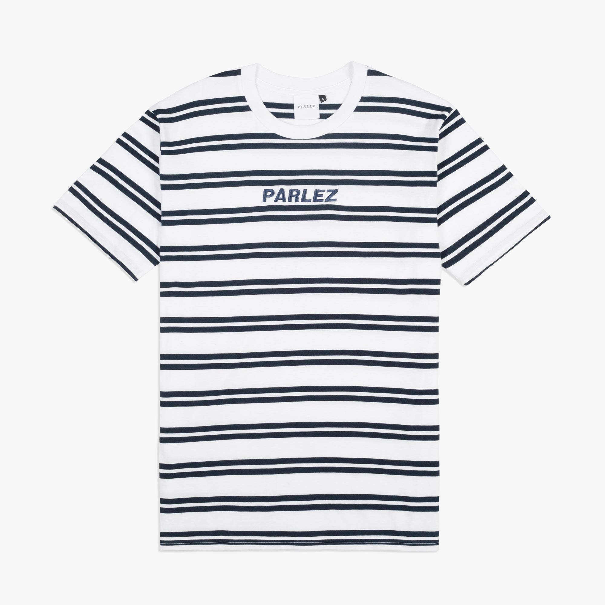 Banner T-Shirt White Stripe