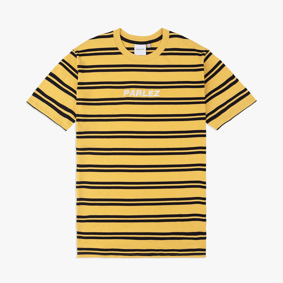 Banner T Shirt Yellow / Black Stripe
