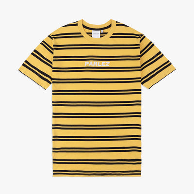 Banner T-Shirt Yellow/Black Stripe