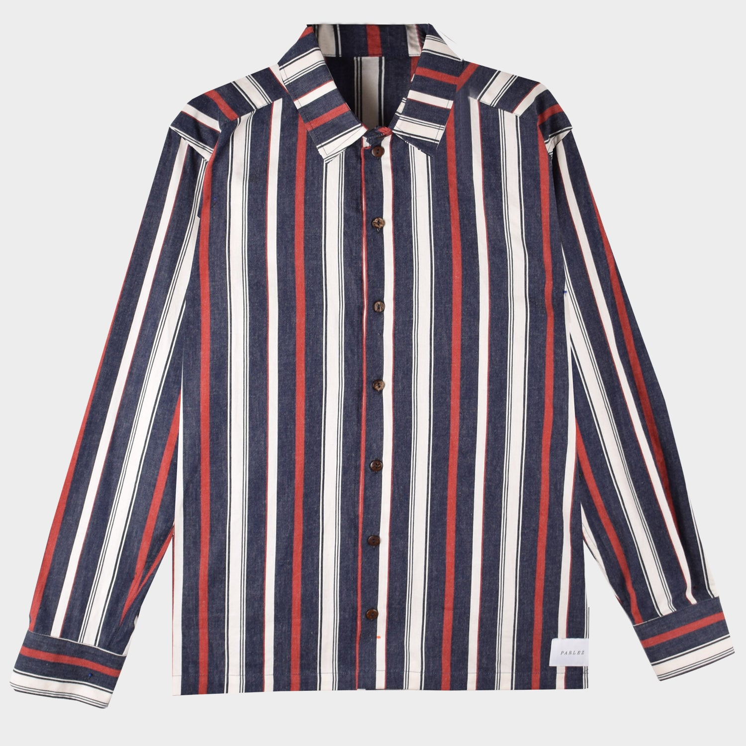 Caulker Long Sleeve Shirt Navy