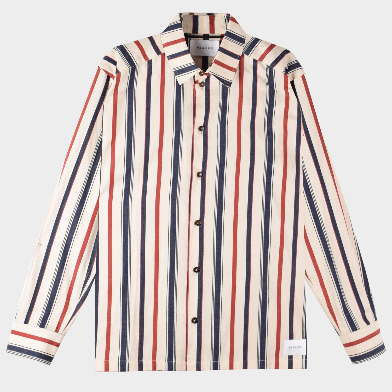 Caulker Long Sleeve Shirt White