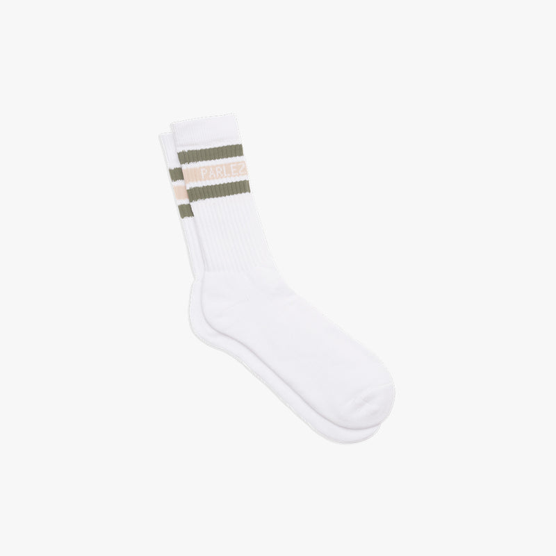 Block Socks Khaki | Sand