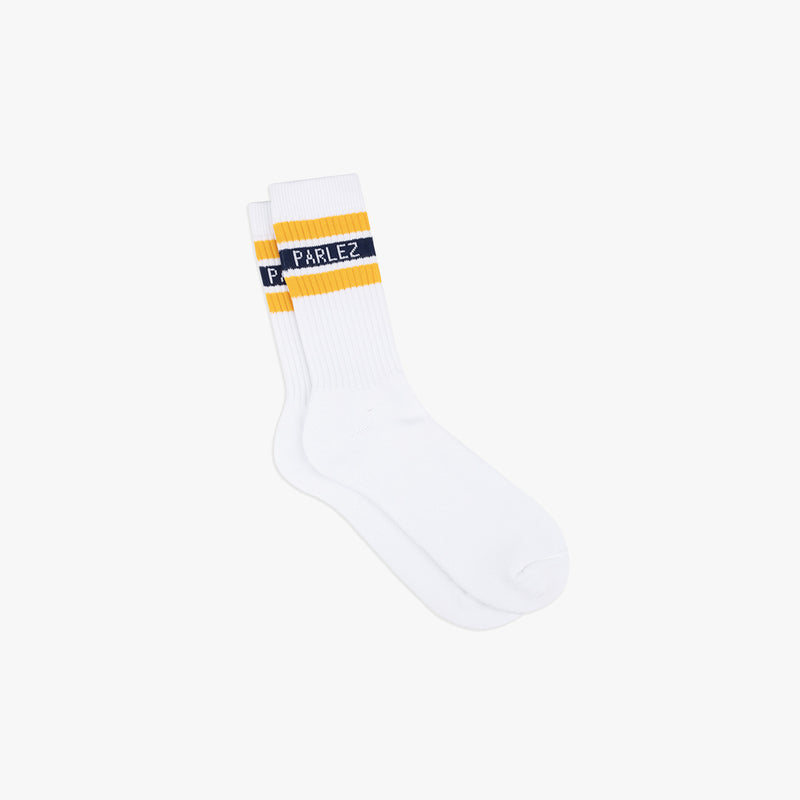 Block Sock Navy/Yellow