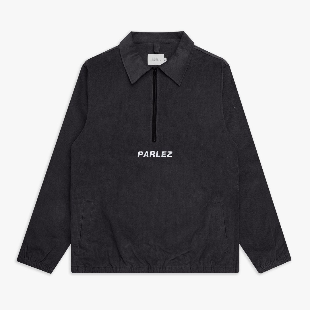 Albin Cord Pull Over Black