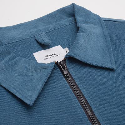 Albin Cord Pull Over Dusty Blue