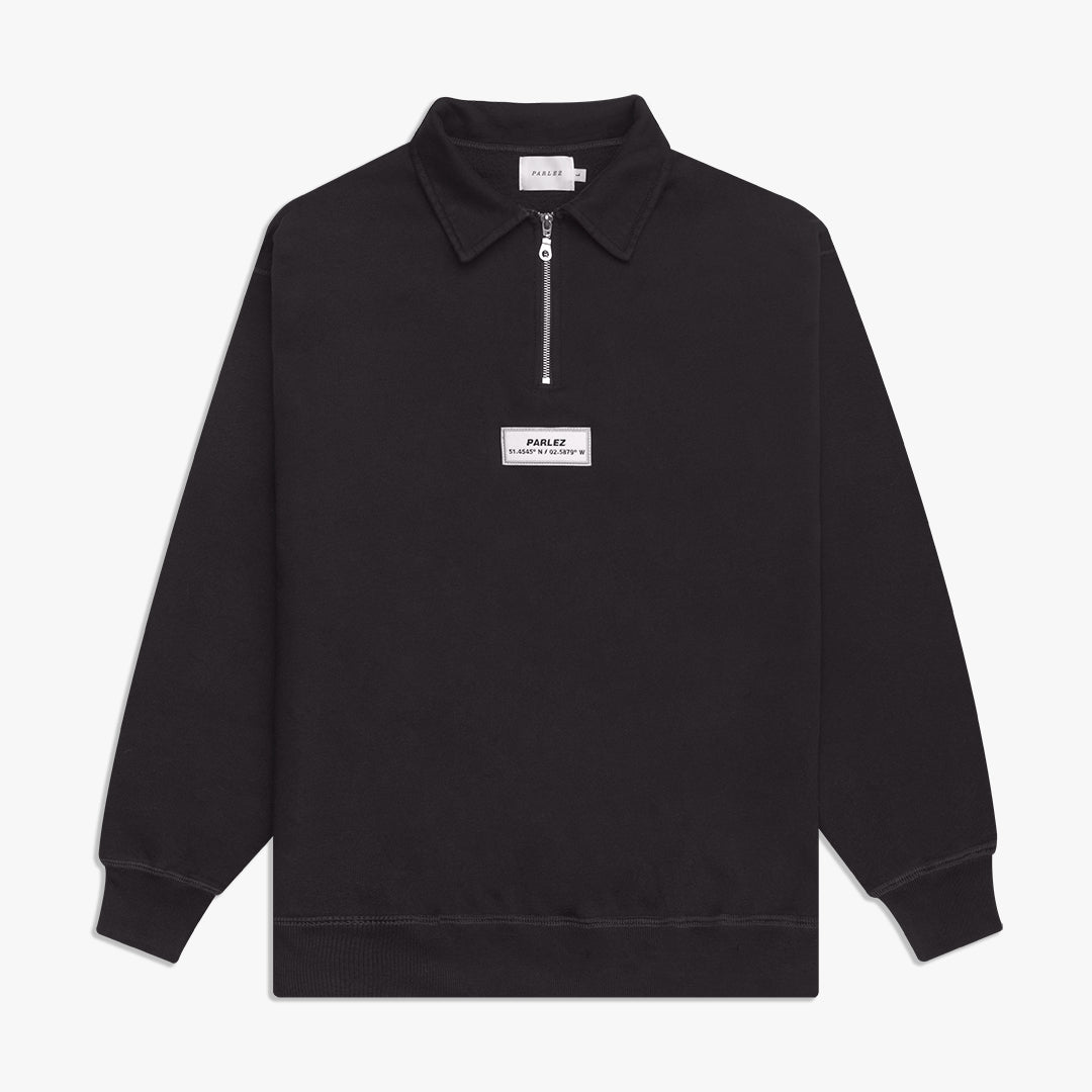Finder 1/4 Zip Black
