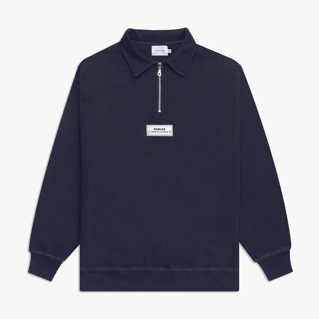 Finder 1/4 Zip Navy