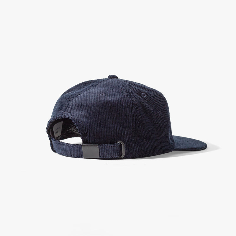 Cooke 6 Panel Cord Cap Navy