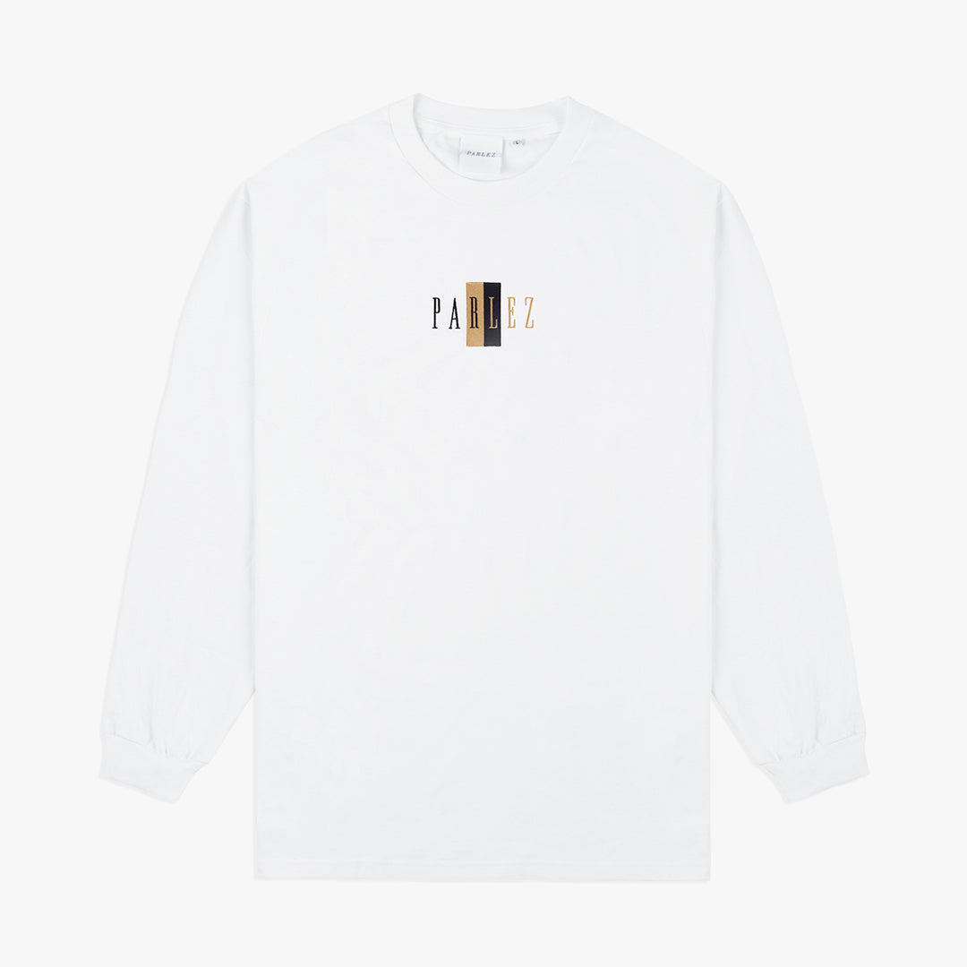 Parlez Divided L/S T-Shirt White