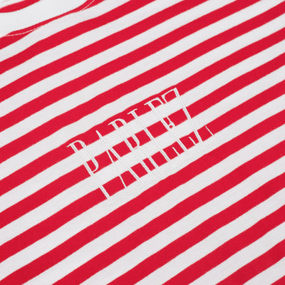 Parlez Edition Stripe T-Shirt Red Classic