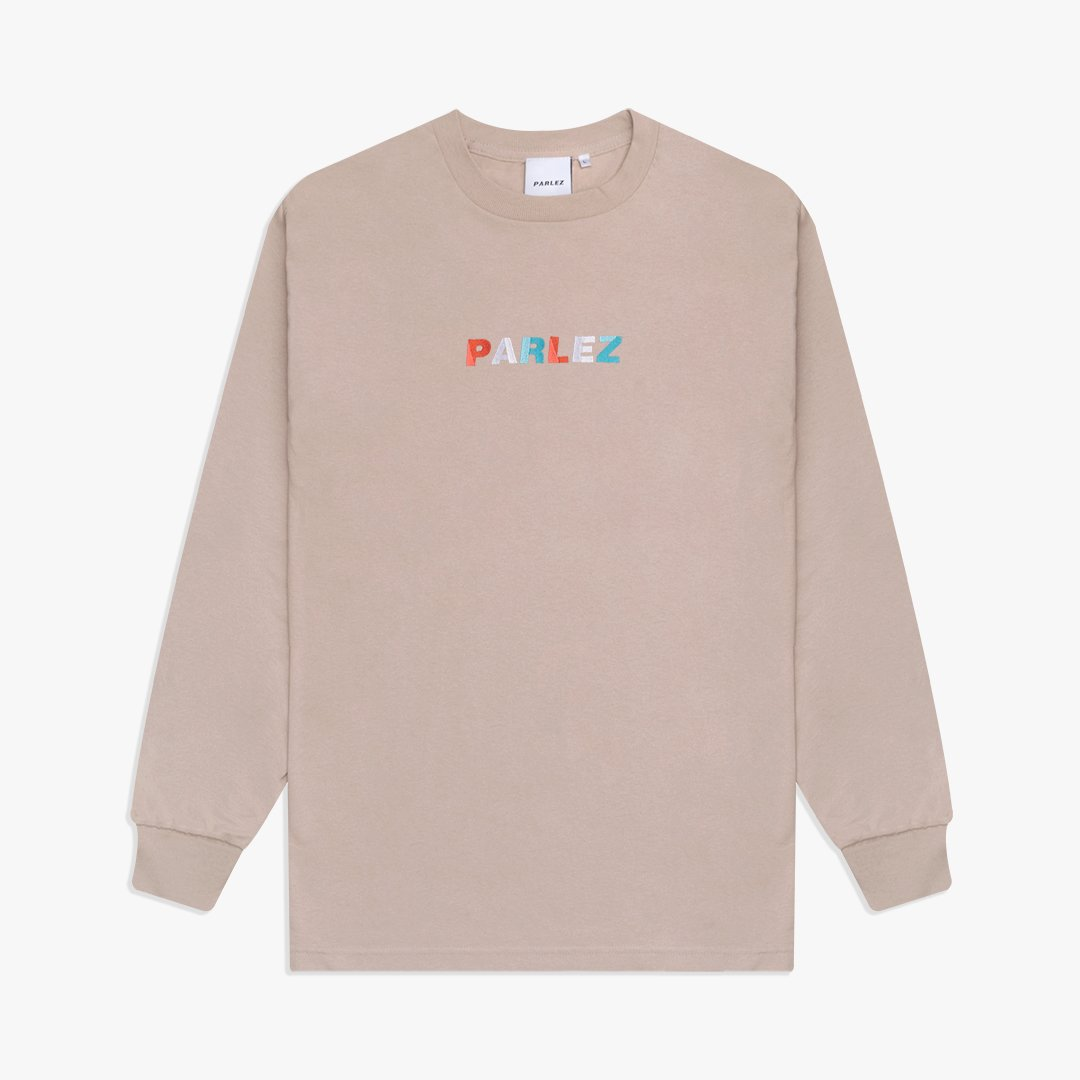 Faded L/S T-Shirt Sand