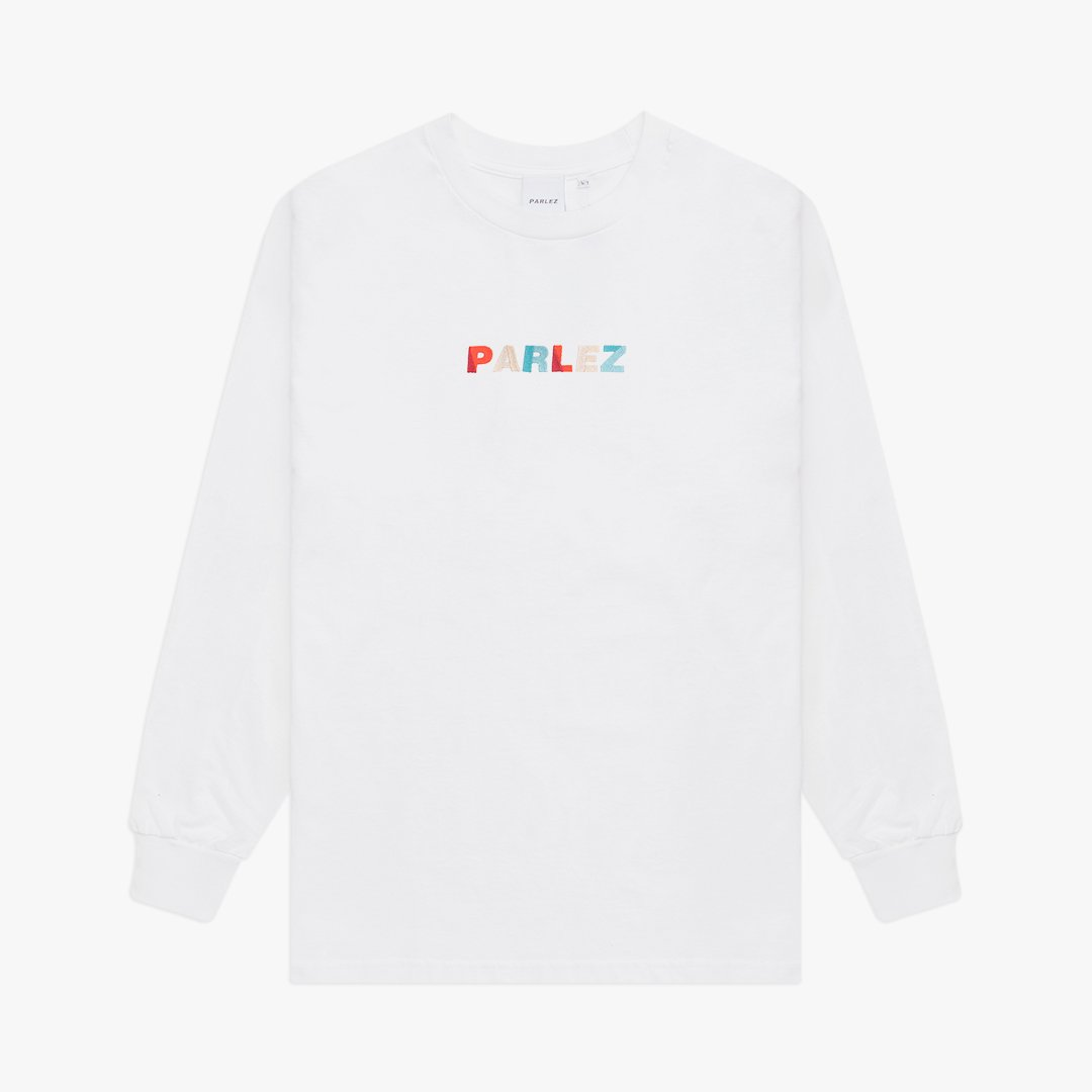 Faded L/S T-Shirt White